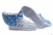 AAA Adidas Jeremy Scott Wings White Blue