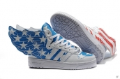 AAA Adidas JS Wings 2012SS American Flags Stars
