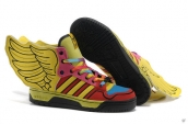 AAA Adidas JS Wings Yellow Blue Black Red
