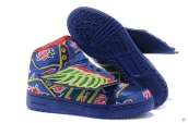 AAA Adidas Originals Jeremy Scott Blue