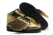 AAA Adidas Jeremy Scott Wings Golden Black