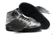 AAA Adidas Jeremy Scott Wings Silvery Black
