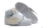 AAA Adidas Jeremy Scott Wings White Golden