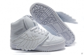 AAA Adidas Jeremy Scott Wings White Silvery
