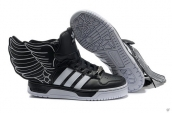 AAA Adidas JS Wings 2-0 Black White