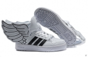 AAA Adidas JS Wings 2-0 White Black