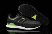 Adidas Porsche Design 911S Leather Dark Grey Fluorescent Green