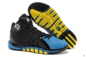 Adidas Rose 4-5 Black Blue Yellow