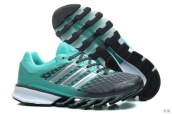 Adidas Springblade II Dark Grey Light Green Silvery