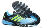 Adidas Springblade II Light Blue Green Black