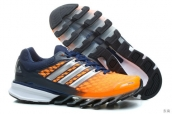 Adidas Springblade II Orange Navy Blue Silvery