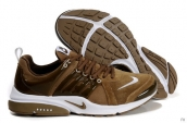 Nike Air Presto Suede Women Light Brown White