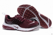 Nike Air Presto Suede Women Wine Red White
