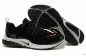 Nike Air Presto Suede Women Black White Red