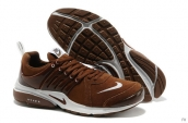 Nike Air Presto Suede Women Brown White