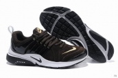 Nike Air Presto Suede Women Dark Brown Golden