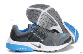 Nike Air Presto Suede Women Grey Blue