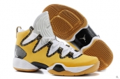 Air Jordan XX8 SE White Golden Black