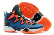 Air Jordan XX8 SE Blue Orange Green White