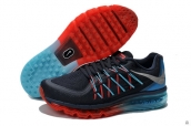 AAA Air Max 2015 Navy Blue Red Silvery Blue