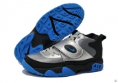 Nike Air Mission Women Silvery Black Blue