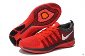Nike Flyknit Lunar2 Red Black White