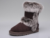 Kids Winter Boot 5281 AAA Fox Wool Chocolate