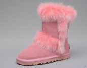 Kids Winter Boot 5281 AAA Fox Wool Pink