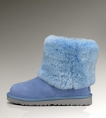 Mens Winter Boot 1001672 AAA Light Blue