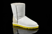 Women Winter Boot 5842 AAA White Yellow