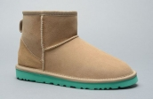 Women Winter Boot 5854 AAA Sand Colour Green
