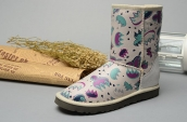 Women Winter Boot 1001992 AAA White Purple