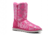 Women Winter Boot 1002195 AAA Rose Red