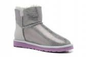 Women Winter Boot 1002678 AAA Silvery Purple