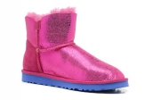 Women Winter Boot 1002678 AAA Roes Red Blue