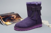 Women Winter Boot 1003174 AAA Purple