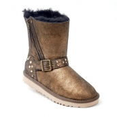 Women Winter Boot 1003266 AAA Golden