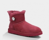 Women Winter Boot 1003889 AAA Wine Red