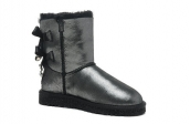 Women Winter Boot 1004140 AAA Swarovski Paillette Black