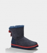 Women Winter Boot 1005079 AAA Blue Red