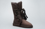 Women Winter Boot 1005818 AAA Chocolate
