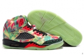 AAA Air Jordan 5 Retro Maple Leaf Glow In Dark