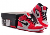 Air Jordan 1 Kids Red White Black