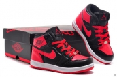 Air Jordan 1 Kids Black Red
