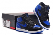 Air Jordan 1 Kids Black Blue