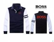 Boss Long-sleeved Polo T-shirt -025