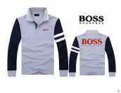 Boss Long-sleeved Polo T-shirt -027