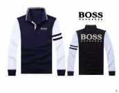 Boss Long-sleeved Polo T-shirt -030