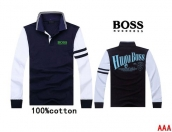 Boss Long-sleeved Polo T-shirt -117