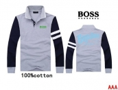 Boss Long-sleeved Polo T-shirt -118